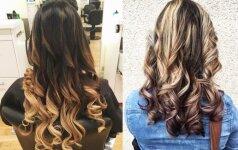 Kaip atsiauginti plaukus iki vasaros