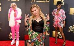 """Neskoningiausi """"MTV Movie Awards"""" ceremonijos įvaizdžiai"""