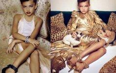 Kaip dabar atrodo garsioji Vogue mergaitė