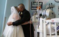 Tai labiausiai jaudinančios vestuvės, kokias tik matėte (FOTO)