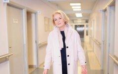 Ginekologė Birutė Intaitė: būna, kad išoperavę vėžio darinį ne visada ir dėkingumo sulaukiame
