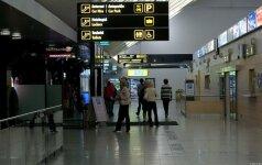 ФОТО: Сообщение о бомбе в Таллиннском аэропорту оказалось шуткой гражданина Испании