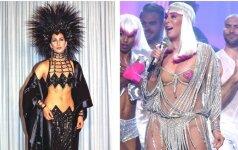 Sunku patikėti, kaip šiandien atrodo 71 m. legendinė Cher