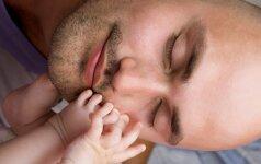 Būsimo vaiko sveikata priklauso nuo to, ką valgo jo tėtis