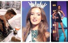 """Grožio receptas tiesiai iš lietuvės, kuri konkurse """"Miss Europe World"""" iškovojo karūną"""
