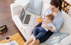 Psichologė: gyvenimą po gimdymo daug kas įsivaizduoja klaidingai