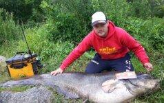Рыбак в Немане поймал чудо-рыбу