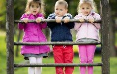 Austėja Landsbergienė įvardija, kokio amžiaus vaikai darželyje apsipranta lengviausiai
