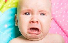 Kodėl kūdikis pravirksta mums išėjus iš kambario?