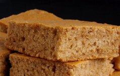 Paprastas meduolinis pyragas be medaus