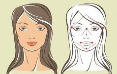9 praturtėjimo taškai ant tavo veido