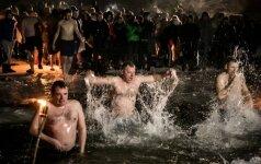 В Литве православные верующие отмечают праздник Крещения Господня