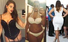 Ashley Graham: šlykštėjausi savimi, maniau, kad esu stora ir bjauri
