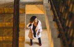 Indrė Launikonytė paltus keičia pagal nuotaiką