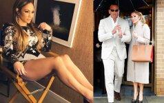 Greta naujo mylimojo Jennifer Lopez tiesiog pražydo!