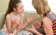 Mamos pagalbos šauksmas: nesusikalbu su dukterimi