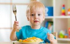 5 mitybos specialistės patarimai, ką sveikiausia valgyti vaikams