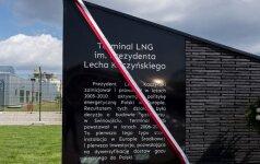 Lech Kaczyński patronem terminala LNG w Świnoujściu. Foto: premier.gov.pl, P.Tracz/KPRM