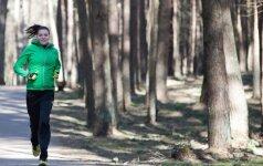Septintą mėnesį nėščia D. Lobačevskė kasdien nubėga po 10 km