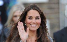 Kate Middleton pasirinko neįprastą gimdymo būdą