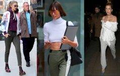 Sportinės aprangos akcentai: stilinga ir patogu