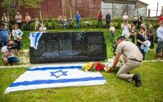 После Марша памяти жертв Холокоста – обращение к Литве