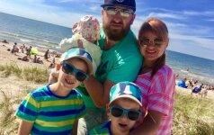 3 vaikų tėvas: kaip uždirbti iš mylimos veiklos ir nepridaryti klaidų