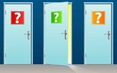 Pasirink duris ir sužinok, kokia ateitis tavęs laukia