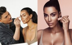 Merginos rėžė atvirai, ką mano apie naują Kim Kardashian kosmetikos liniją: kontūravimo karalienė susimovė!