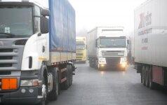 На границе с Калининградской областью - очереди грузовиков