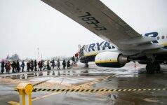 Ryanair собирается расширять базу в Каунасе