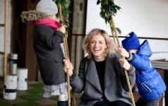 Živilė Diawara: vaikams gerai matyti savo dirbančius tėvus