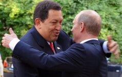 Hugo Chavezas ir Vladimiras Putinas