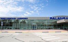 В Палангском аэропорту – новшество для приезжающих на машинах