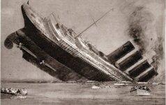 """Didžiausios laivų katastrofos. Ir """"Titaniko"""" čia nėra"""