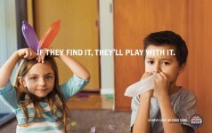 Šokiruojanti reklama atkreipia dėmesį į vaikų saugumą (FOTO)