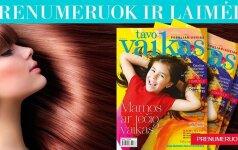 Prenumeruokite TAVO VAIKO žurnalą ir laimėkite SPA procedūrą plaukams