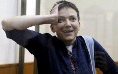 Sawczenko wymieniono na dwóch rosyjskich wojskowych