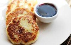 Idėja pusryčiams ar vakarienei: kokosiniai varškėčiai