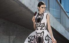 """Suknelių ir paveikslų kolekcija """"Išlaisvink žvėrį. Ryžkis dvigubam"""" skatina išlaisvėti"""