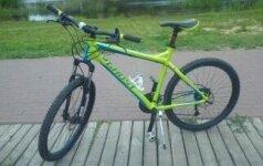 Vaikinas prašo rasti pavogtą išskirtinį dviratį