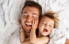 Kodėl mergaitei svarbi tėčio meilė