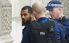 Названо имя задержанного в Вестминстере вооруженного ножами мужчины