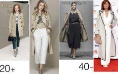 4 drabužių deriniai savaitgaliui: ir 20+, ir 50+