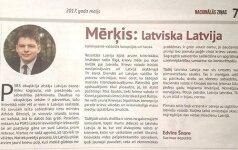 Латвийский депутат сравнил русскоязычных жителей страны со вшами