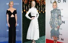 Stiliaus dosjė. Nicole Kidman – 50 nepriekaištingos elegancijos metų