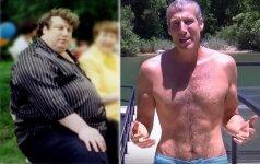Šis vyras numetė 100 kilogramų, laikydamasis savo paties sukurtos 7 žingsnių programos