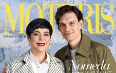 """Gegužės """"Moters"""" viršelio veidai Dovas Serapinas ir Nomeda Marčėnaitė: Sūnus neturi būti įsikibęs į mamą"""