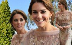Nuo Kate Middleton neįmanoma atitraukti akių