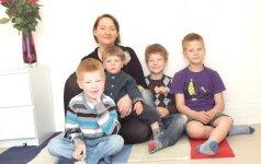 4 vaikų mama: ką aš darau, kad mano vaikai auga sveiki? Birutės dienoraštis iš Londono